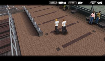 【PSP】喧嘩番長兄弟:東京之戰中文版,超棒的格鬥動作遊戲!