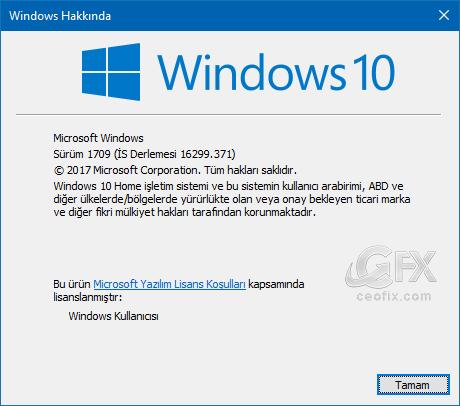 Windows sürüm numaranız - www.ceofix.com