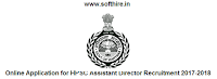 Online Application for HPSC Assistant Director Recruitment