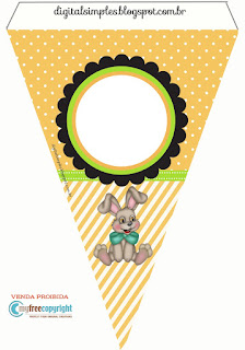 Funny Easter Free Printable Banner.