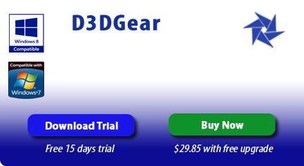 تسجيل فيديو  العاب الكمبيوتر  | d3dgear