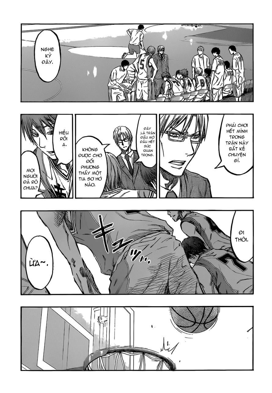 Kuroko No Basket chap 225 trang 7