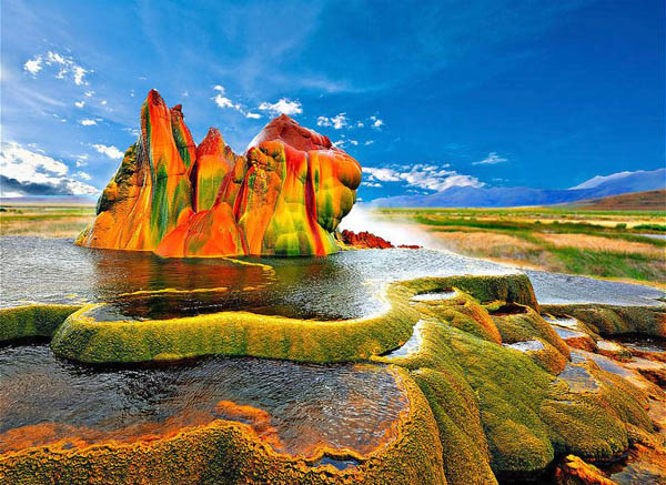 20 Tempat Paling Berwarna Di Dunia