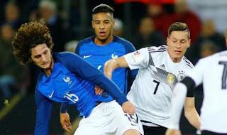 Jerman vs Prancis Imbang 2-2 Highlights - Friendly Match