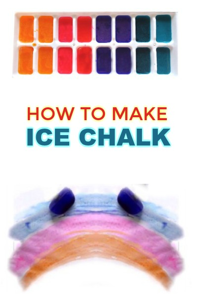 HOW TO MAKE ICE CHALK (full tutorial) #sidewalkchalkideas #sidewalkchalk #chalkrecipe #summerativitiesforkids #playrecipe
