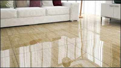 piso porcelanato polido