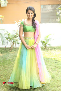 Actress Nikitha Bisht Stills in Lehenga Choli at Pochampally Ikat Art Mela Launch  0405.JPG