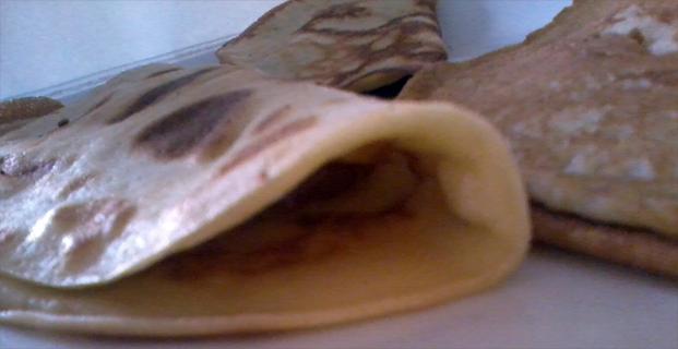 Receta de crepes
