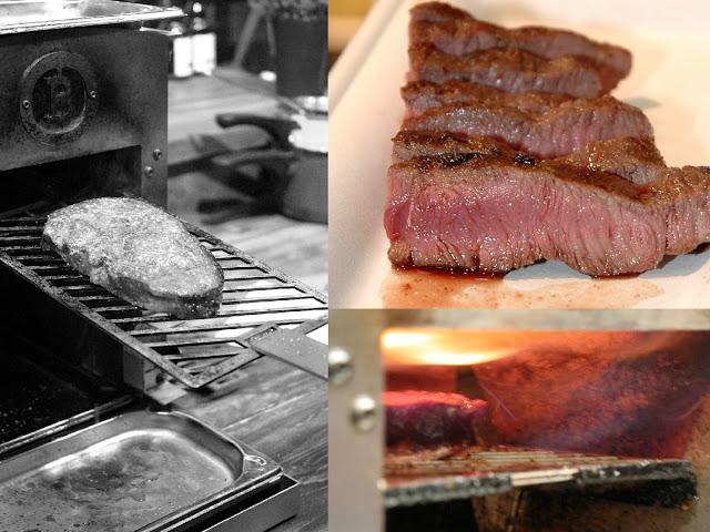 Steak aus dem Beefer der Beefer Grillgeräte GmbH aus Königswinter bei Bonn.