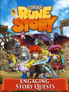 Colopl Rune Story APK MOD High Damage Skill