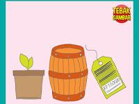 Tebak Gambar Pot Bunga Tong dan Label Harga