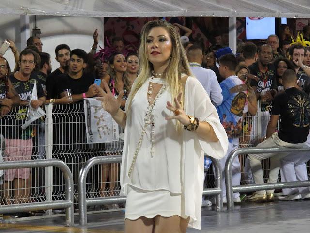 Roberta Melo - Desfile do Vai-Vai - Foto: Renato Cipriano