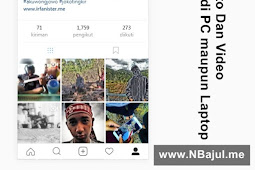 Cara Upload Foto dan Video Instagram di PC Atau Laptop