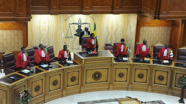 The Constitutional Court of Gabon upholds incumbent President Ali Bongo's election victory, rejects opposition