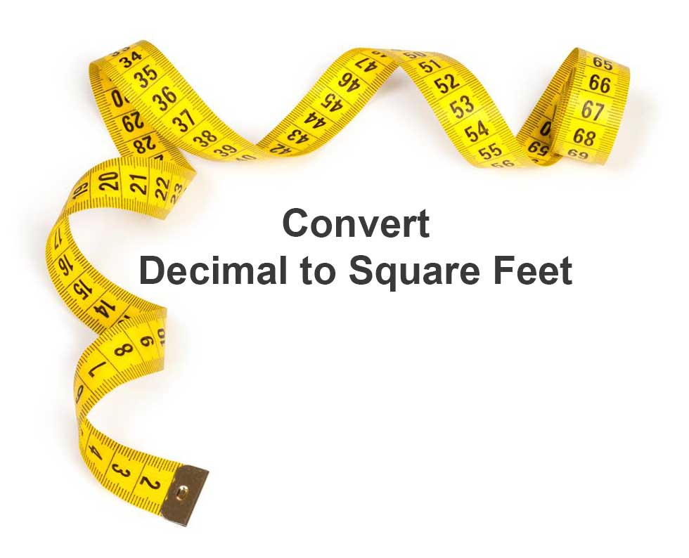 Convert Square Feet To Square Meters Immagine Titolata