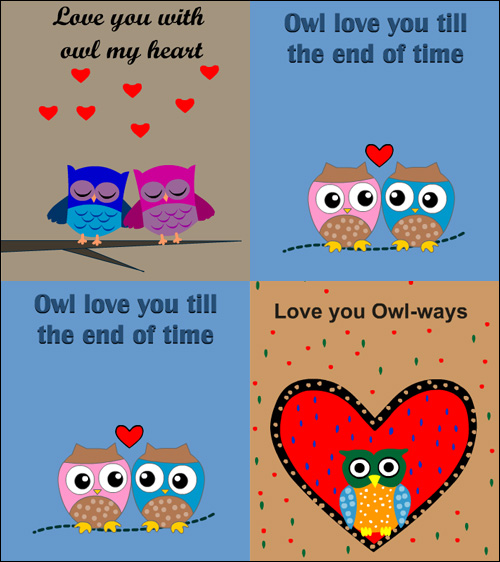 My Owl Barn: 15 Owl Valentine's Day Printables
