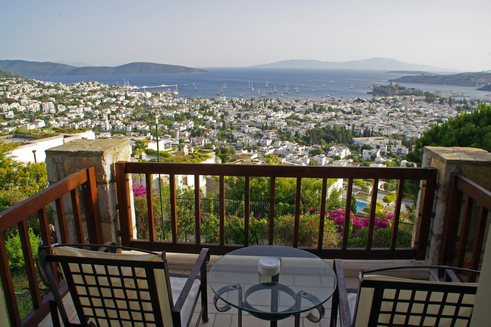 Balcony View from Marmara Bodrum