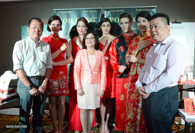 With the owners, and VVIPs of Poh Kong