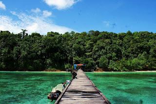 Berwisata Seru dan Mengasyikan di Pulau Kakaban Berau