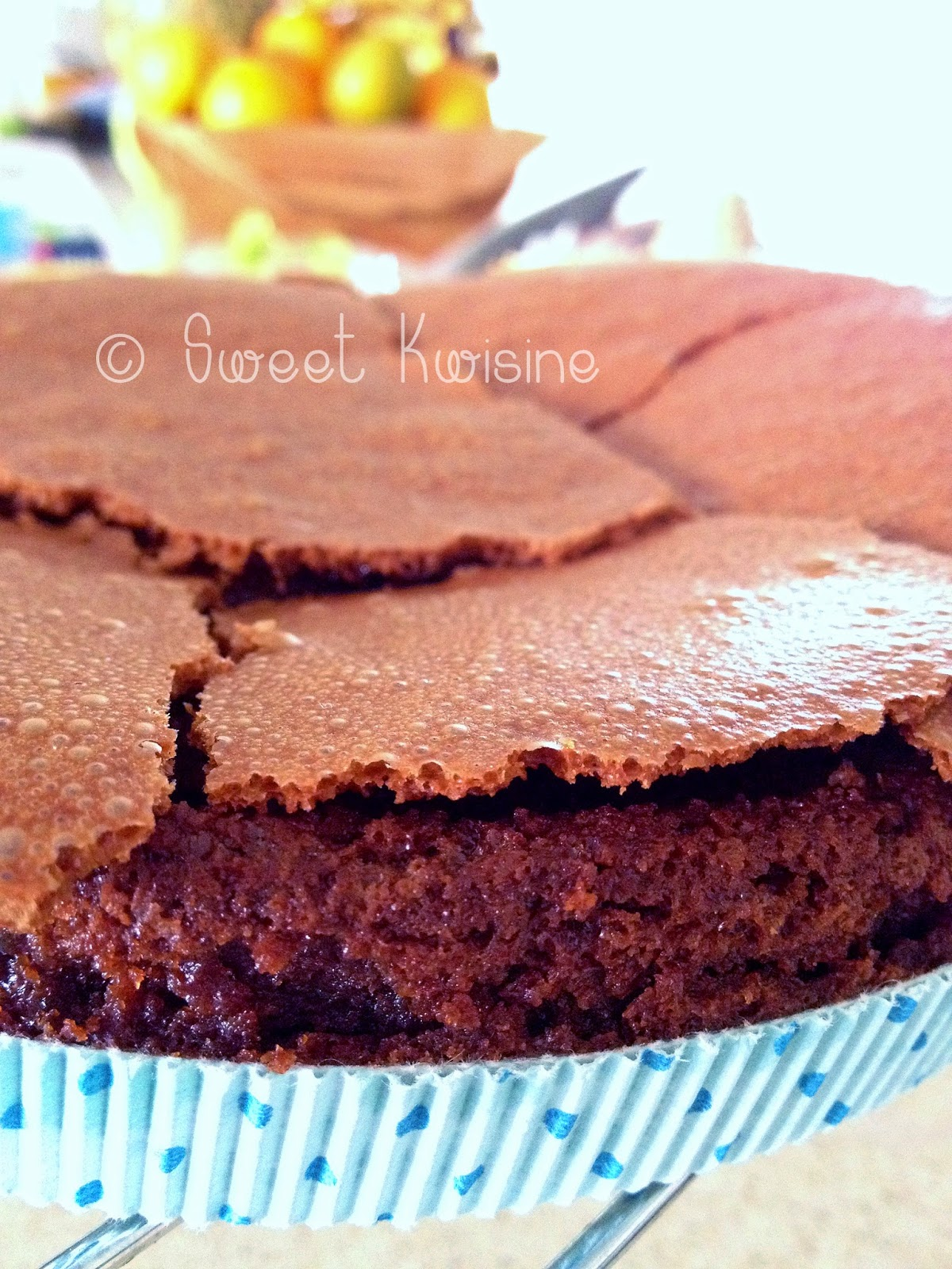 Sweet Kwisine, chocolat, moelleux, caramel, beurre demi-sel, cuisine de bernard
