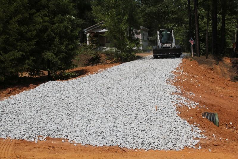 Ct Hauling Amp Materials Llc Building A Gravel Driveway In