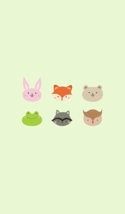 귀여운 숲 동물