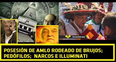 Posesión del presidente ocultista AMLO Andrés Manuel López Obrador: entre brujos, pedófilos, narcos e illuminati #Katecon2006