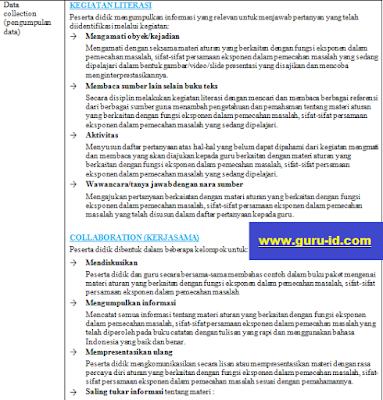 gambar RPP Matematika Perminatan Kurikulum 2013 Kelas 10 Revisi 2018