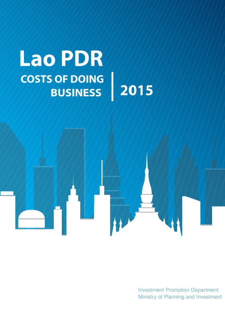 Cover of Lao PDR Costs of Doing Business 2015