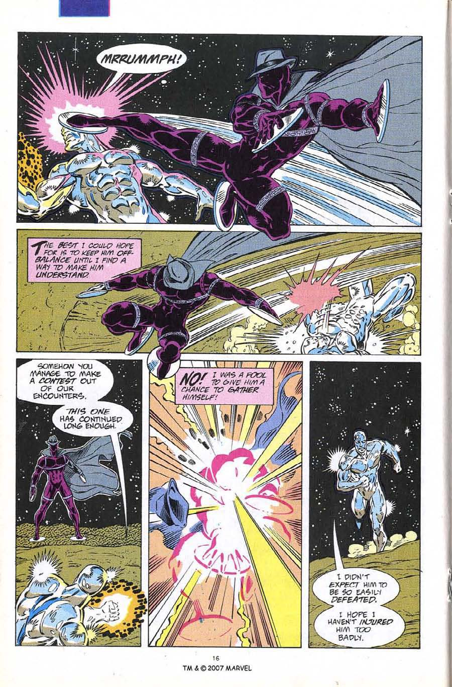 Read online Silver Surfer (1987) comic -  Issue #60 - 18