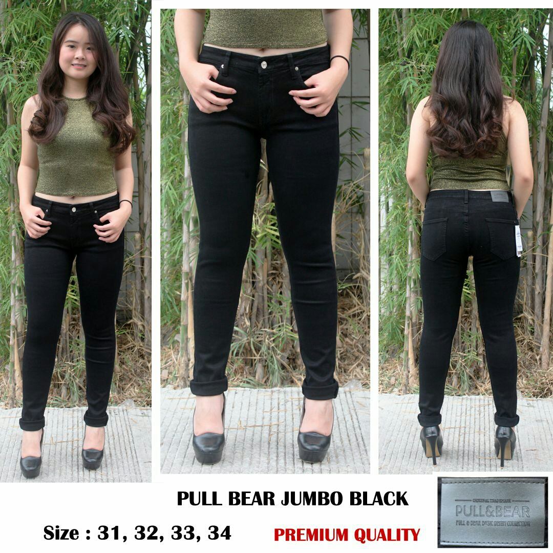 Pull bear jumbo black