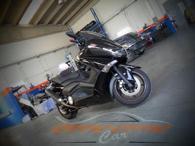 Verniciatura carrozzeria Scooter T-Max Yamaha