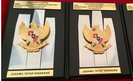 menganugerahkan gelar Pahlawan Nasional kepada enam tokoh Presiden Anugerahkan Gelar Pahlawan Nasional Kepada 6 Tokoh, Salah Satunya Kakek Anies Baswedan