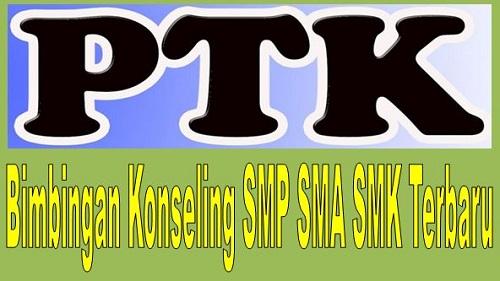 Contoh PTK Bimbingan Konseling SMP SMA SMK Terbaru