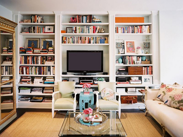 Decor Data: The Best Television Is A Hidden Television