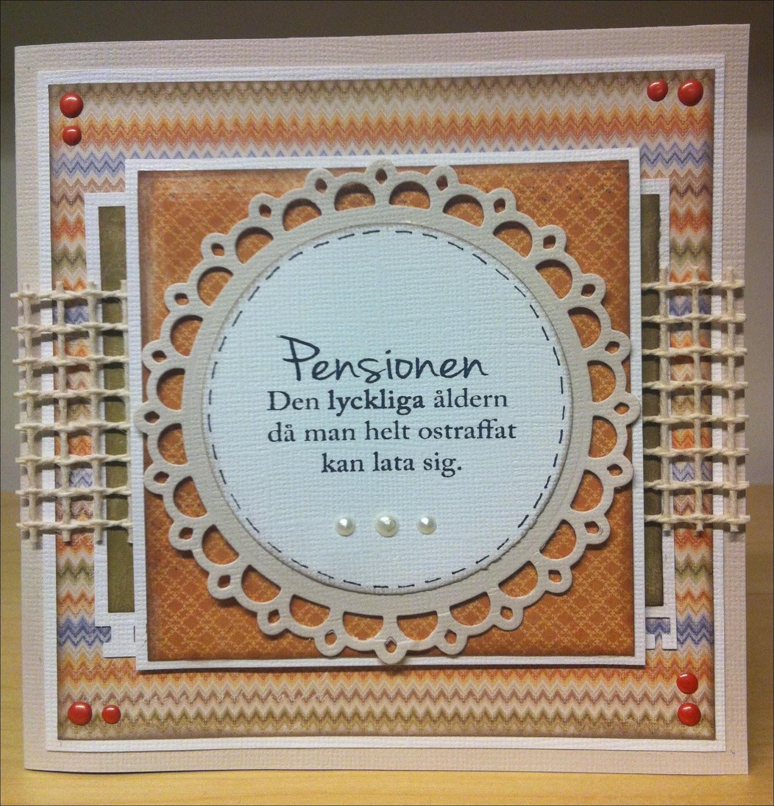 Roliga Pensionskort