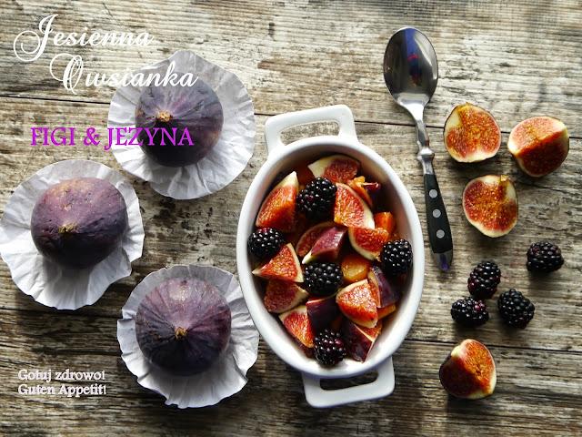 Jesienna owsianka z figami i jeżynami - Czytaj więcej »