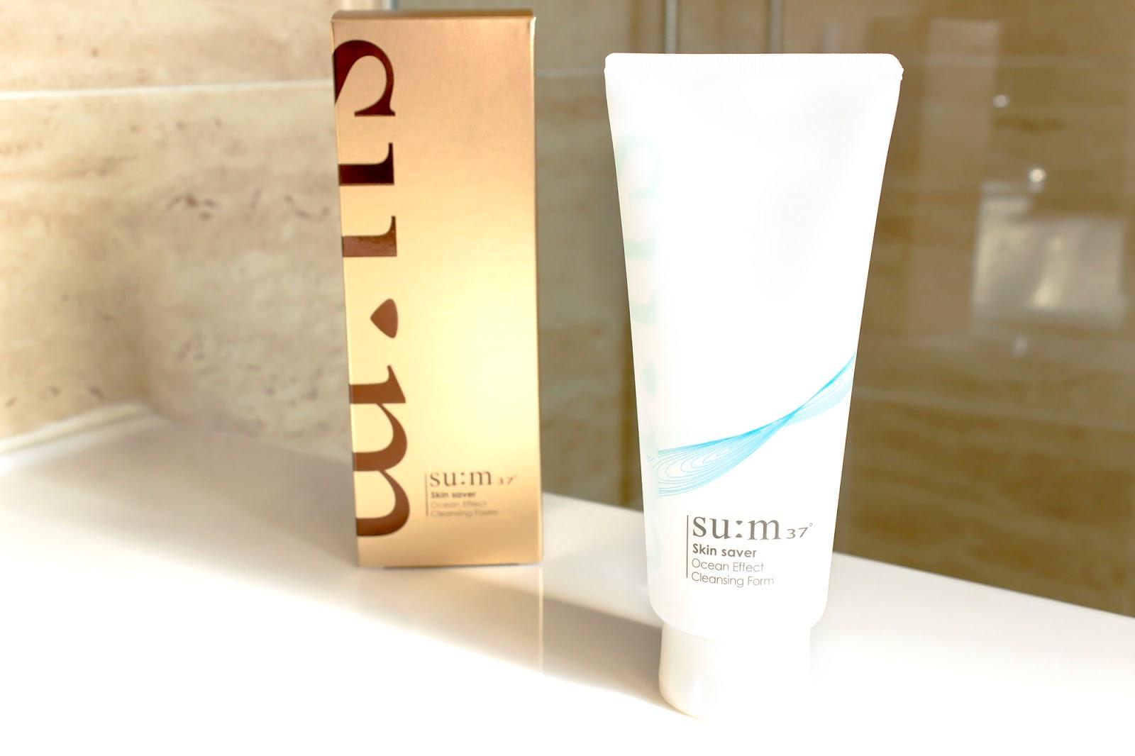 su:m37 Skin Saver Ocean Effect Cleansing Foam review