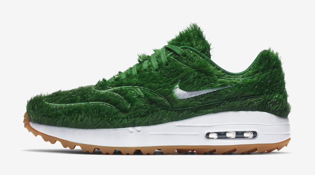 b4265830 The #1 Writer in Golf: Nike Air Max 1 Golf Grass Shoes Preview - Al ...