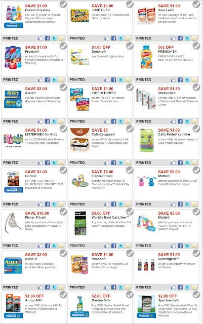 Walmart coupons codes