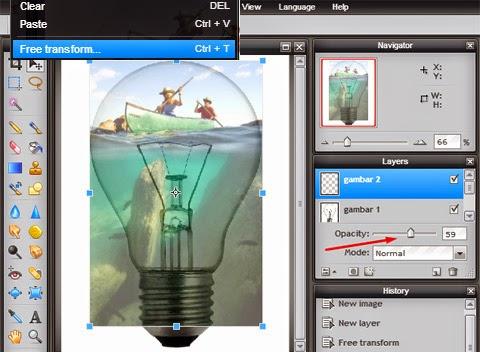 Manipulasi Foto Gambar Berbeda