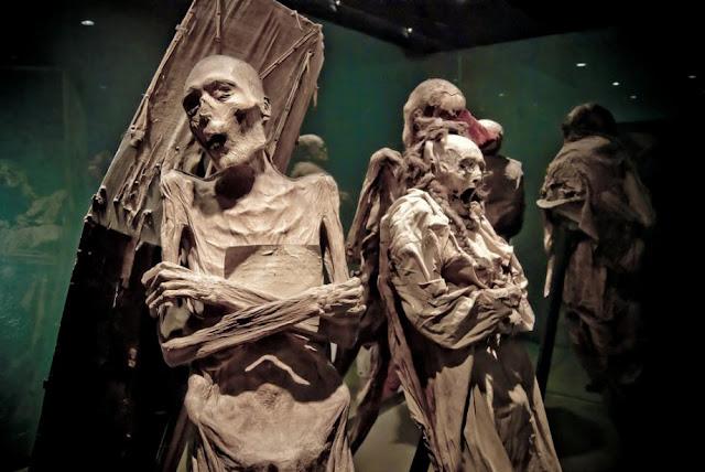 mumi paling menyeramkan di dunia