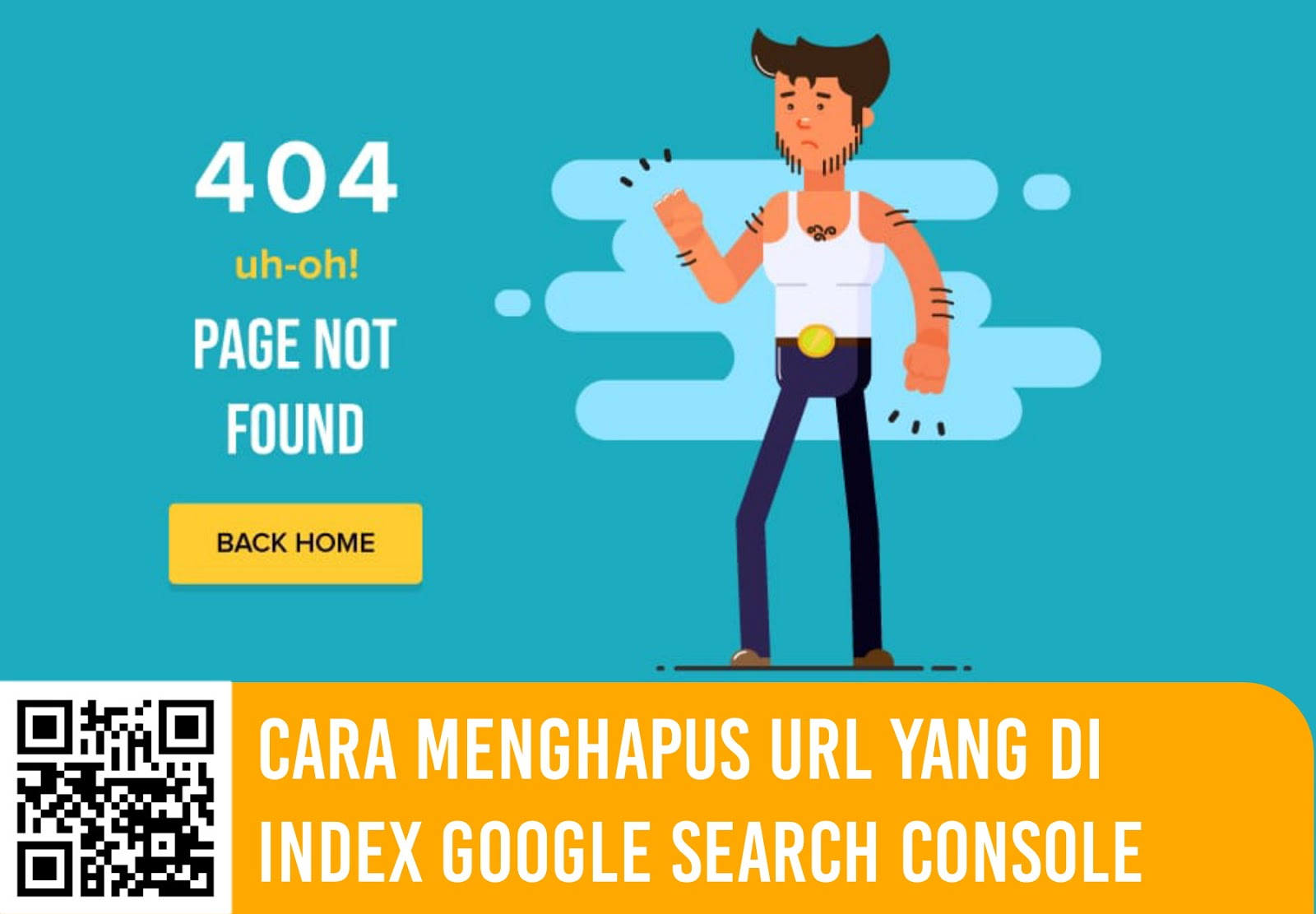 Cara Menghapus URL yang di Index Google Search Console