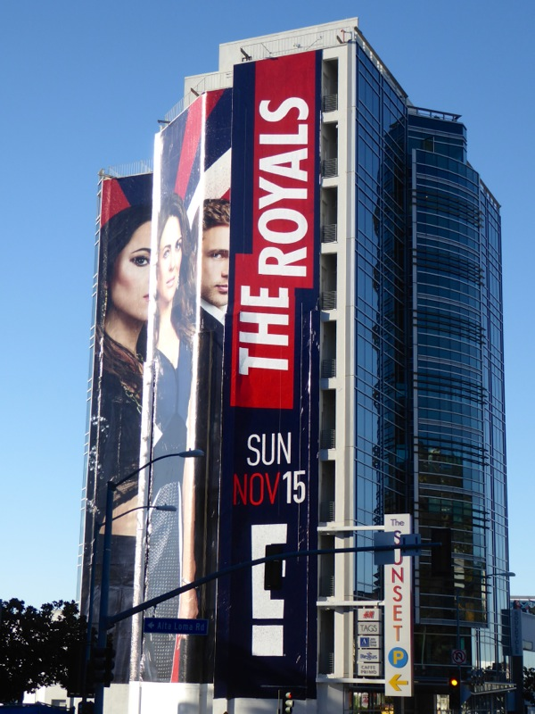 The Royals season 2 billboard
