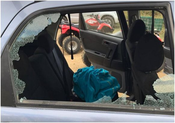 Items stolen from tourist's car in Costa Rica