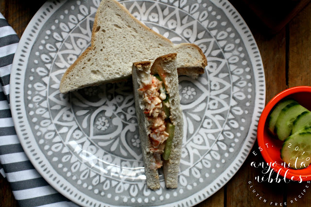 How to make a gluten-free prawn mayo sandwich