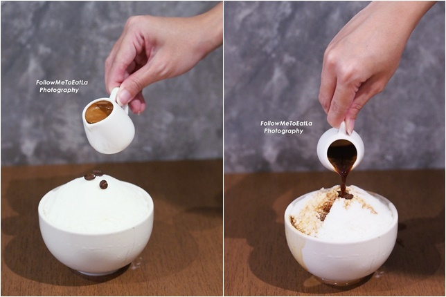 Coffee Lovers Bingsu ~ Espresso Bingsu
