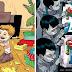 Ilustrações satíricas que trazem uma reflexão sobre a realidade do dias de hoje