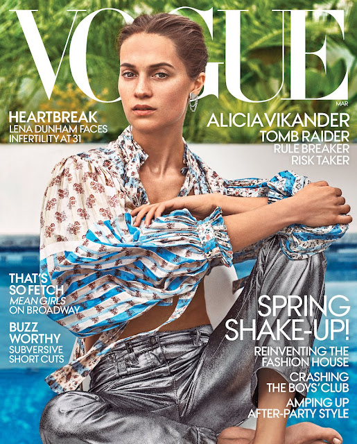 Alicia Vikander Paris Fashion Week