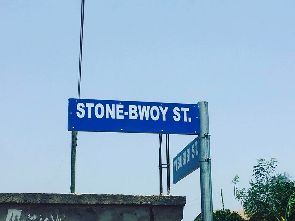 Street named after Stonebwoy at Ashaiman